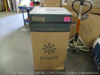 """Zinus King 12"""" Memory Foam Comfort Pressure Relief Mattress"""