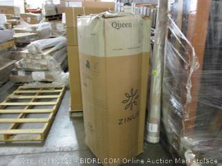 "Zinus 14"" Icoil Spring Gel Foam Cooling Mattress Queen"