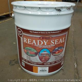 Goof Proof Ready Seal Stain and Sealer for Wood  Five Gallon
