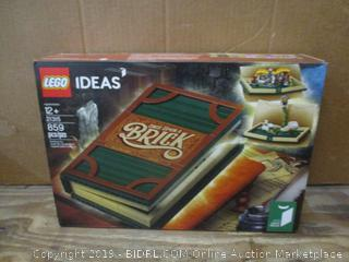 Lego Ideas box damage