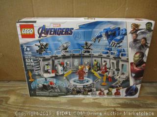 Lego Avengers box damaged