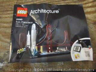 Lego Architecture Possibley Not a complete set box damage