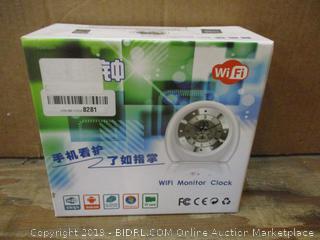 WIFI Monitor Clock No Cords