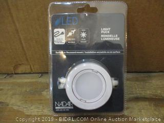 Nadair Wired LED Puck Light Factory Sealed