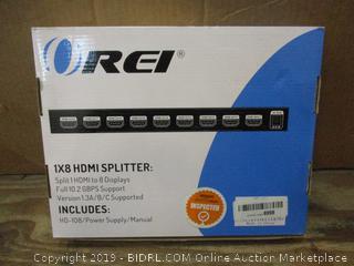 REI 1x8 HDMI Splitter