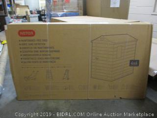 Storage Shed (Sealed) (Box Damaged)