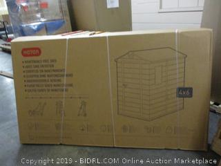Storage Shed (Sealed)