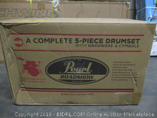 Pearl Roadshow Drumset (Sealed) (Incomplete Set)