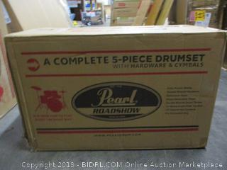 Pearl Roadshow Drumset (Incomplete Set)