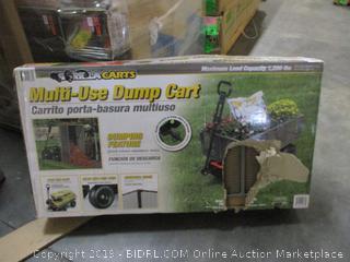 Multi-Use Dump Cart (Sealed) (Box Damaged)