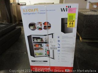 3.1 Cu ft. Dual Door Refrigerator (Sealed)
