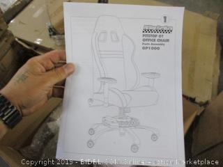 Pitstop GT Office Chair (Parts Only) (Please Preview)