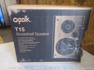 Bookshelf Speaker