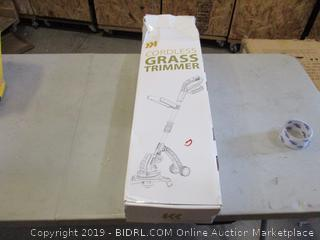 Cordless Grass Trimmer (Box Damaged) (Please Preview)