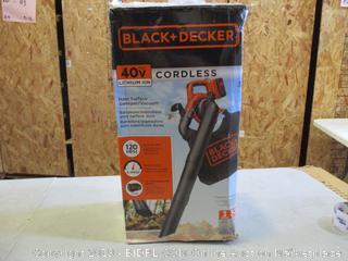 Black + Decker Cordless Hard Surface Sweeper/Vacuum