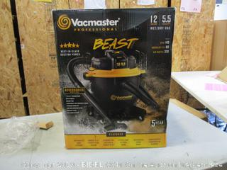 Vacmaster Wet/Dry Vac (Please Preview)