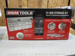 21-Bin Storage Set (Please Preview)