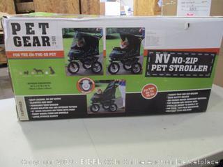 No-Zip Pet Stroller (Box Damaged) (Please Preview)