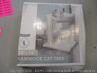Hammock Cat Tree (Box Damaged) (Please Preview)