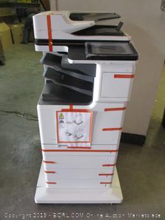 HP LaserJet Enterprise MFP M681f Color Laser - Multifunction printer - powers on (Retail $4,349.00)