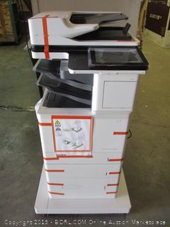 HP LaserJet Enterprise Flow MFP M633 - powers on