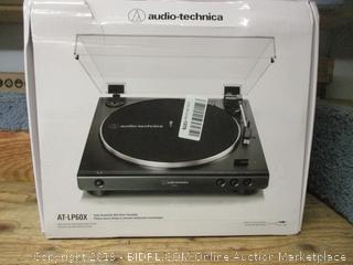 Audio-Technica LP60X fully automatic belt-drive turntable