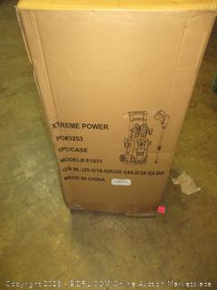 Xtreme power high pressure cleaner with reel hose