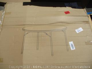 Blow Mold Round Table