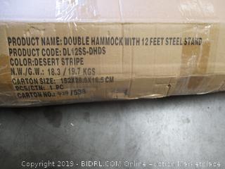 Double Hammock w/ Stand