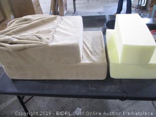 Zinus 4 Step Comfort Foam Pet Stairs