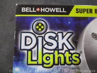 Bell + Howell Disk Lights