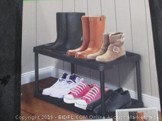 2 Tier Boot and Shoe Organizer