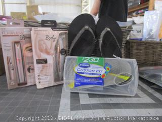 Dr Scholl's inserts and Sandals size 9