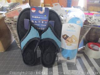 Slippers and Speep Mask
