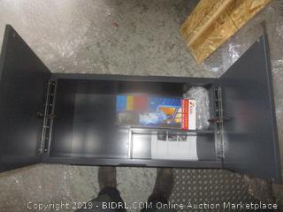 Cabinet with Kidde Escape Ladder