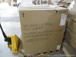 """36"""" Wide Lateral File Cabinet"""