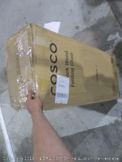 Cosco X-Back Wood Folding Chair