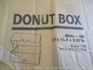 Donut Boxes See Pictures