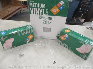 Medium Vinyl Gloves