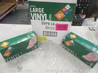 Large Vinyl Gloves