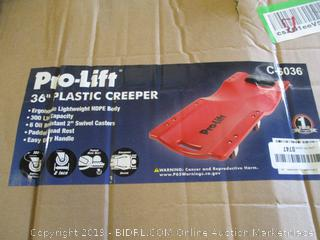 "Pro Lift 36"" Plastic Creeper"