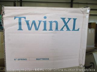 Zinus 6in Sleep Master Coil Spring Mattress Twin XL