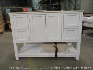 Bath Vanity with Sink See Pictures