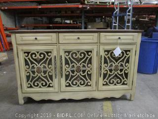 Decorative Cabinet with drawers and doors