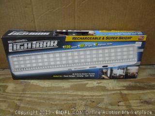 Bell + Howell Light Bar No Cords, box damaged