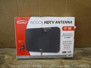 Amplified Indoor HDTV Antenna Box damaged