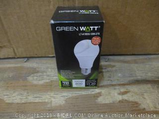 Green Watt bulb