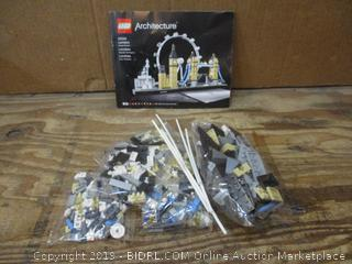 Lego Architecture no box, possible not a complete set