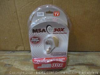 MSA 30S Sound Amplifier