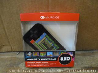 My Arcade Gamer V Portable Box damaged